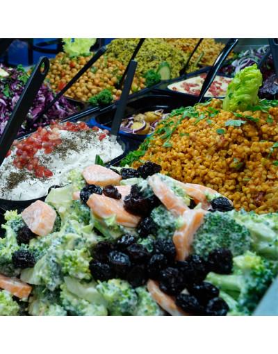 Lille salat (Vælg 3)