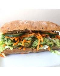 Pesto kylling Sandwich