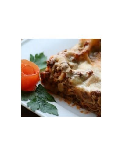 Lasagne m. kødsovs & ost